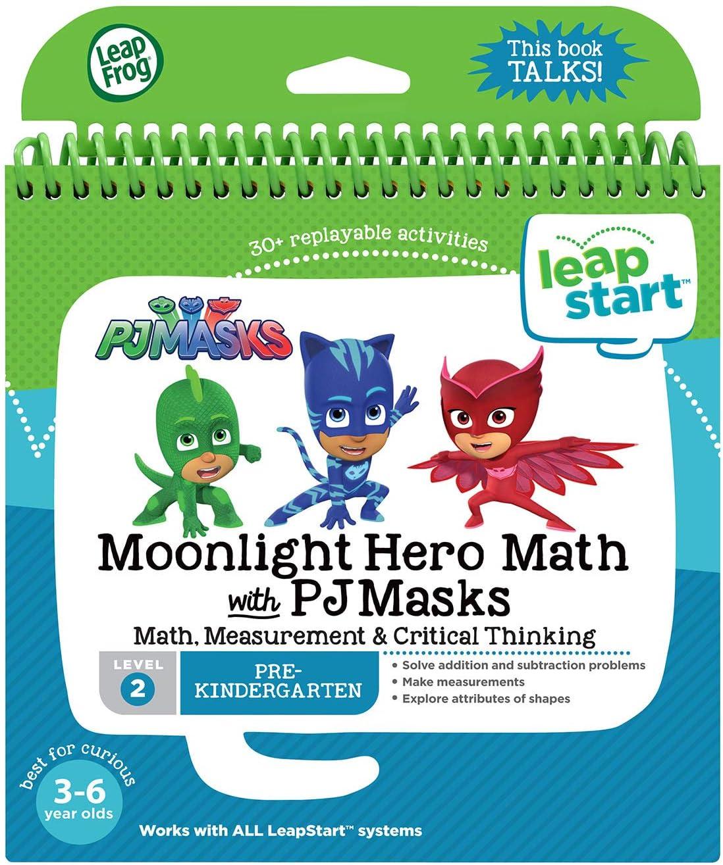 LeapFrog LeapStart Book, Moonlight Hero Math With Pj Masks