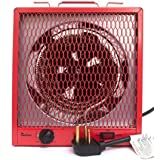 Dr Infrared Heater Exaco Industrial Level Heater, GARAGE SHOP, red