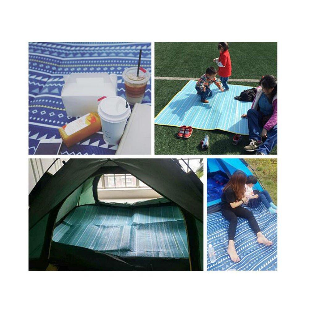 Beach Mat Alfombra De Picnic Mat Exterior Alfombra Portátil Alfombra De Césped Camping Excursión Mat Alfombra Exterior para Dormir,A-180  200CM efee46