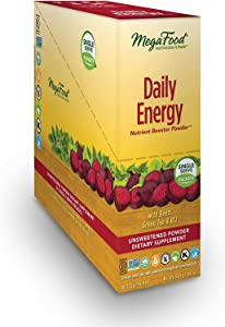 MegaFood, Daily Energy Booster Powder Singles, 30 Packets (30 Servings)