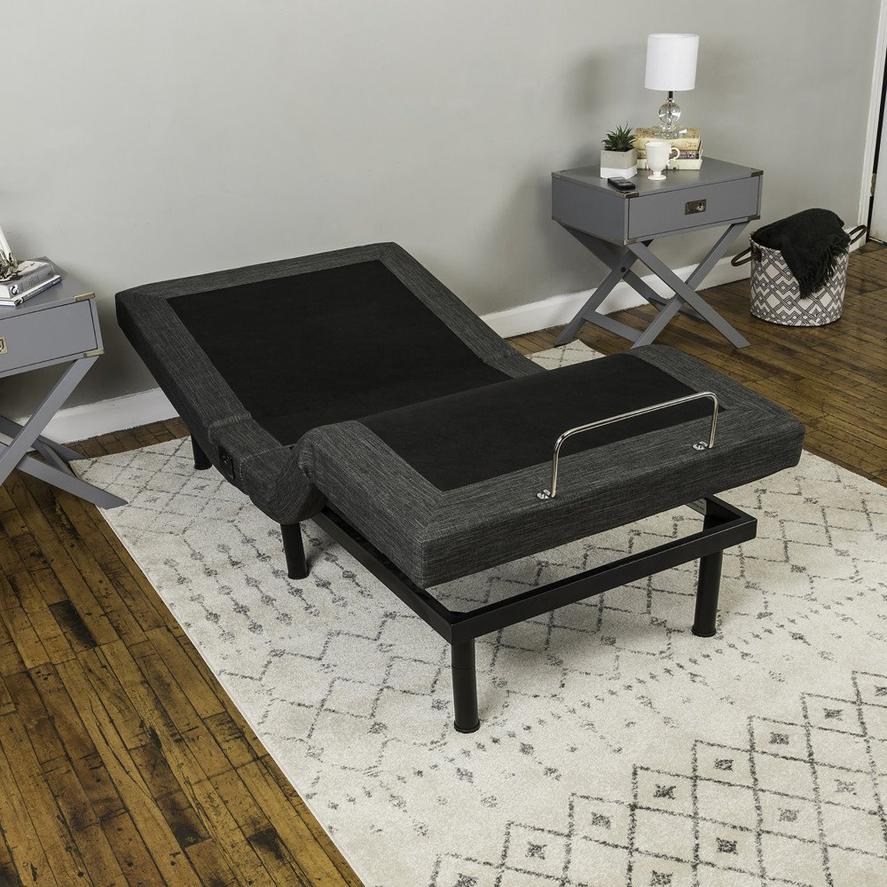 Classic Brands Adjustable Comfort Adjustable Bed Base with Massage, Wireless Remote and USB Ports by Classic Brands (Image #17)