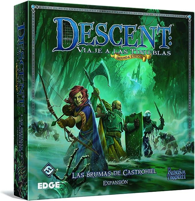 Edge Entertainment Descent: Viaje a Las tinieblas - Las Brumas de Castrohiel, el Juego de Cartas EDGDJ40: Amazon.es: Juguetes y juegos