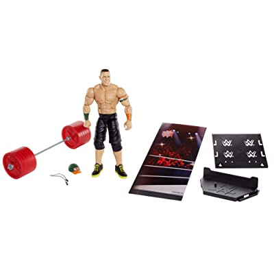 WWE Elite Collection John Cena Action Figure: Toys & Games