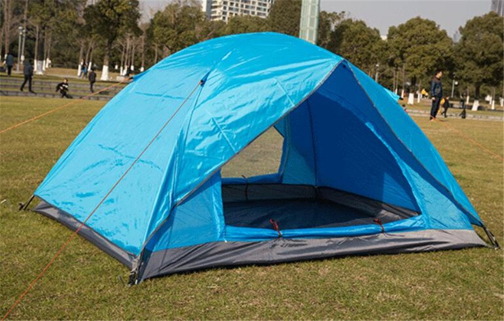 HONEYY Hoher Dichte Gaze Enh Zelte Doppelzimmer Doppelzimmer Doppelzimmer Tür Zelte Outdoor Camping Zelt 200  150  110 cm im vierten Quartal