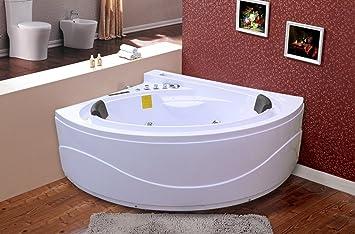 Whirlpool Badewanne U2013 Sicilia 692/1650 X 1500 X 620/Ozon Desinfektion/Touch