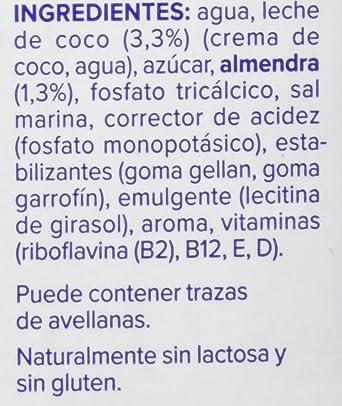 Alpro Central Lechera Asturiana Bebida de Coco Almendra - Paquete ...