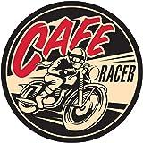 1x Cafe Racer Old School Adhesivos Rockabilly Retro Vintage Ace Bobber # 3