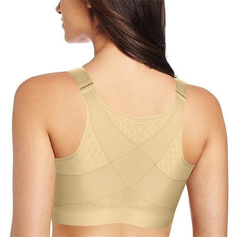 sujetador para mujer, Corrector de Postura para la espalda beige albaricoque L: Amazon.es: Ropa y accesorios