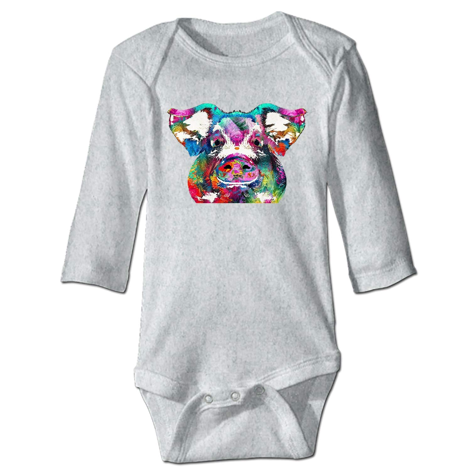 Chenqin-s Flying Deer Onesies Long Sleeve Home Outfit for Baby Boys Girls