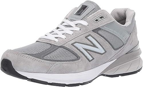 New Balance Men's 990v5 Sneaker, GREY, 8.5 N US
