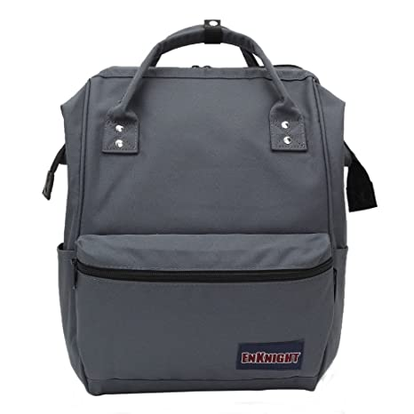 4253cde425 ENKNIGHT Casual School Backpacks Nylon Travel Backpack Schoolbags Daypack  Gray