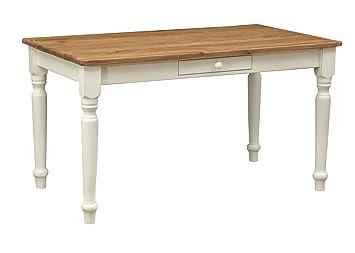 Soggiorno Pranzo Cucina : Tavolo fisso da cucina sala da pranzo soggiorno legno massello
