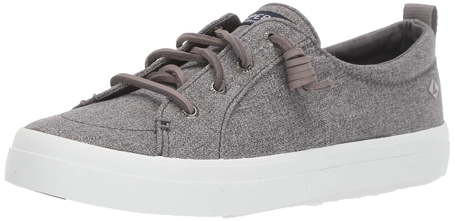 SPERRY Women's Crest Vibe Sparkle Chambray Sneaker