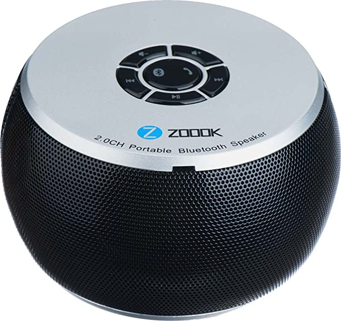 Zoook Bluetooth Speaker ZB BS100 Black Bluetooth Speakers