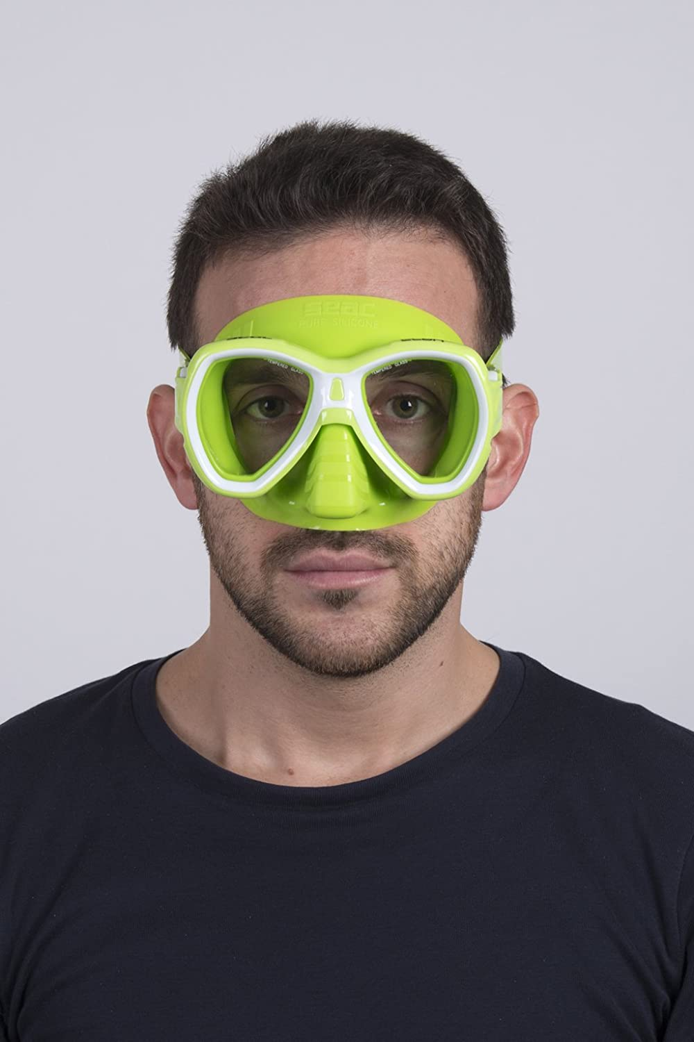 Two Lenses SEAC Elba Snorkeling and Swimming Soft Silicon Mask