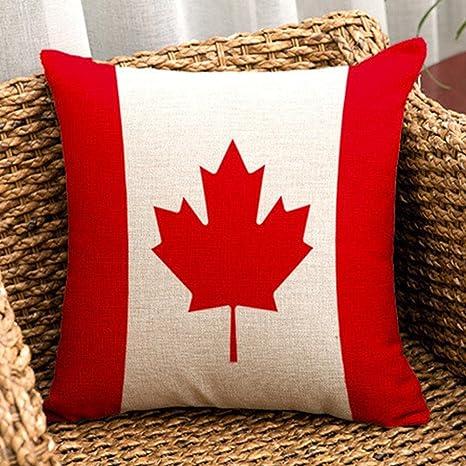 Mundo bandera serie - cuadrado Burlap lino y algodón manta ...