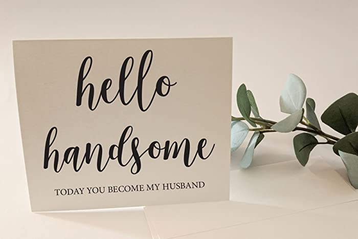 Amazoncom Hello Handsome Good Morning Gorgeous Today You Become