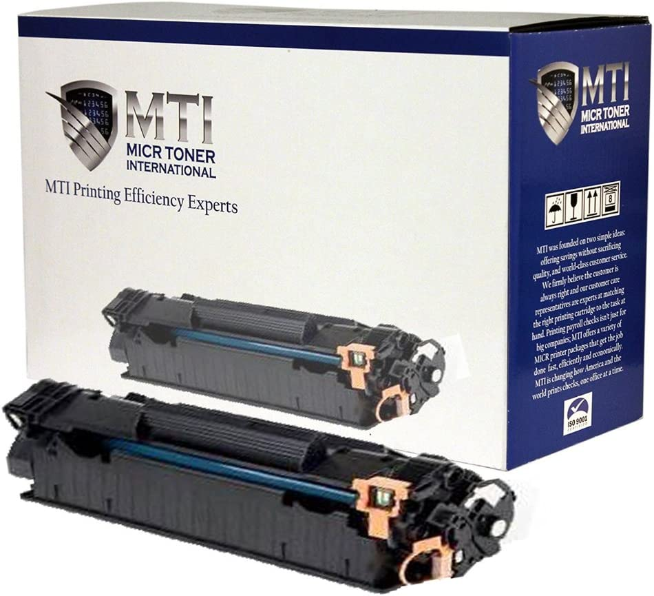 MICR Toner International Compatible Magnetic Ink Cartridge Replacement for TROY 02-82000-001 HP CE278A 78A LaserJet P1606 P1606DN