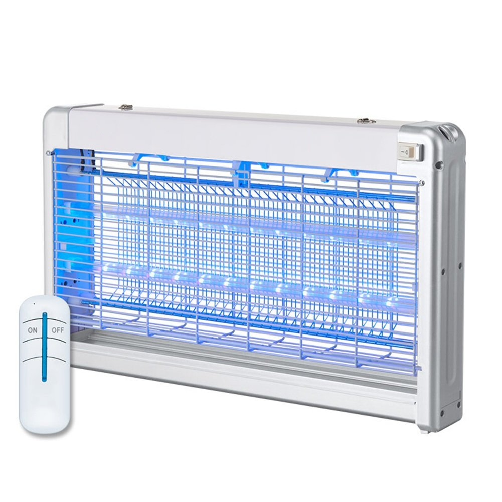 LIANGLIANG 害虫駆除屋内の電気ショックUVは放射能フリーレモントコントロールコントロールを誘引します。蚊を殺す、2つのスタイル39 * 7.6 * 28cm (色 : シルバー しるば゜) B07DP2DPM6 シルバー しるば゜ シルバー しるば゜