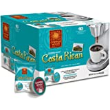 Copper Moon Single Cups for Keurig K-cup Brewers, Costa Rican, 40 Count