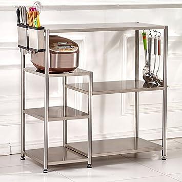 Estanterías de cocina WSSF Multi-Capas de Cocina de Acero ...