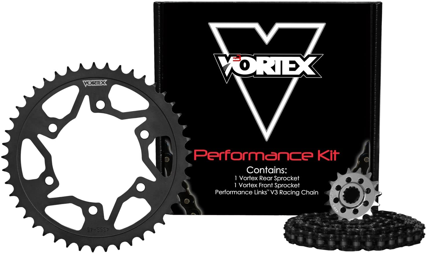 Vortex CK5147 Chain and Sprocket Kit