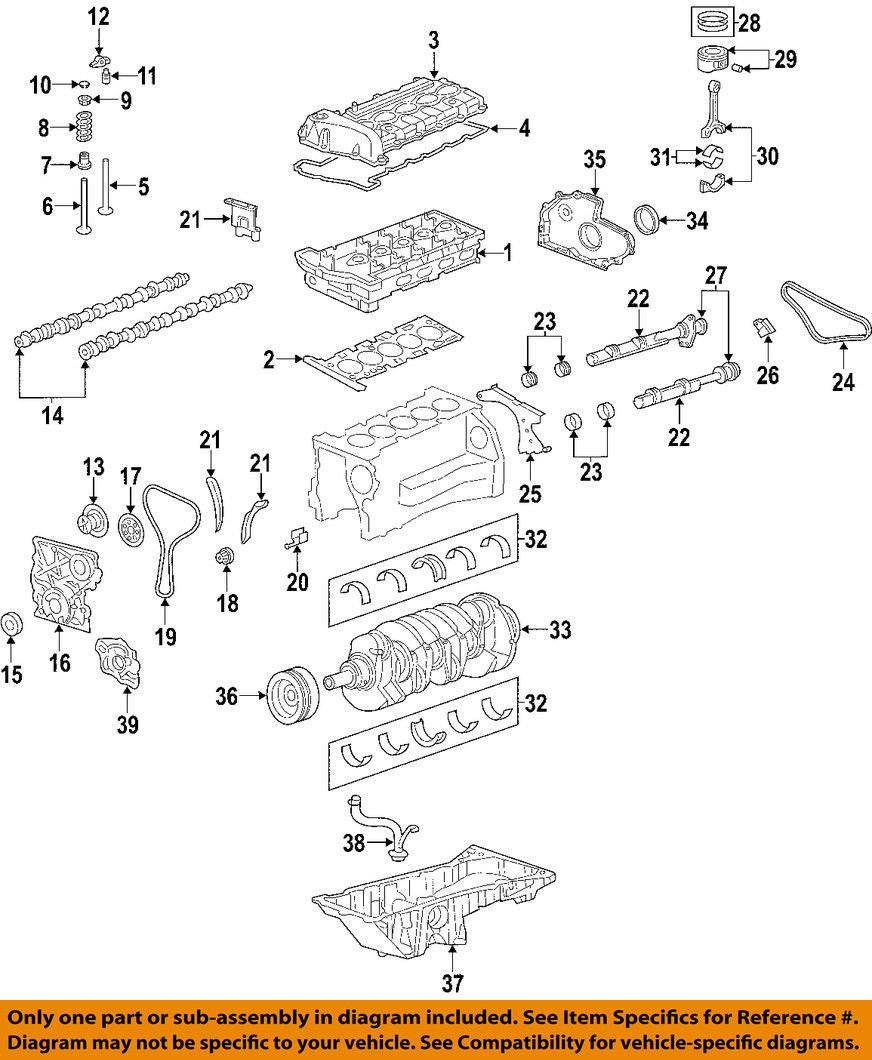 General Motors 12591633, Engine Valve Cover Gasket