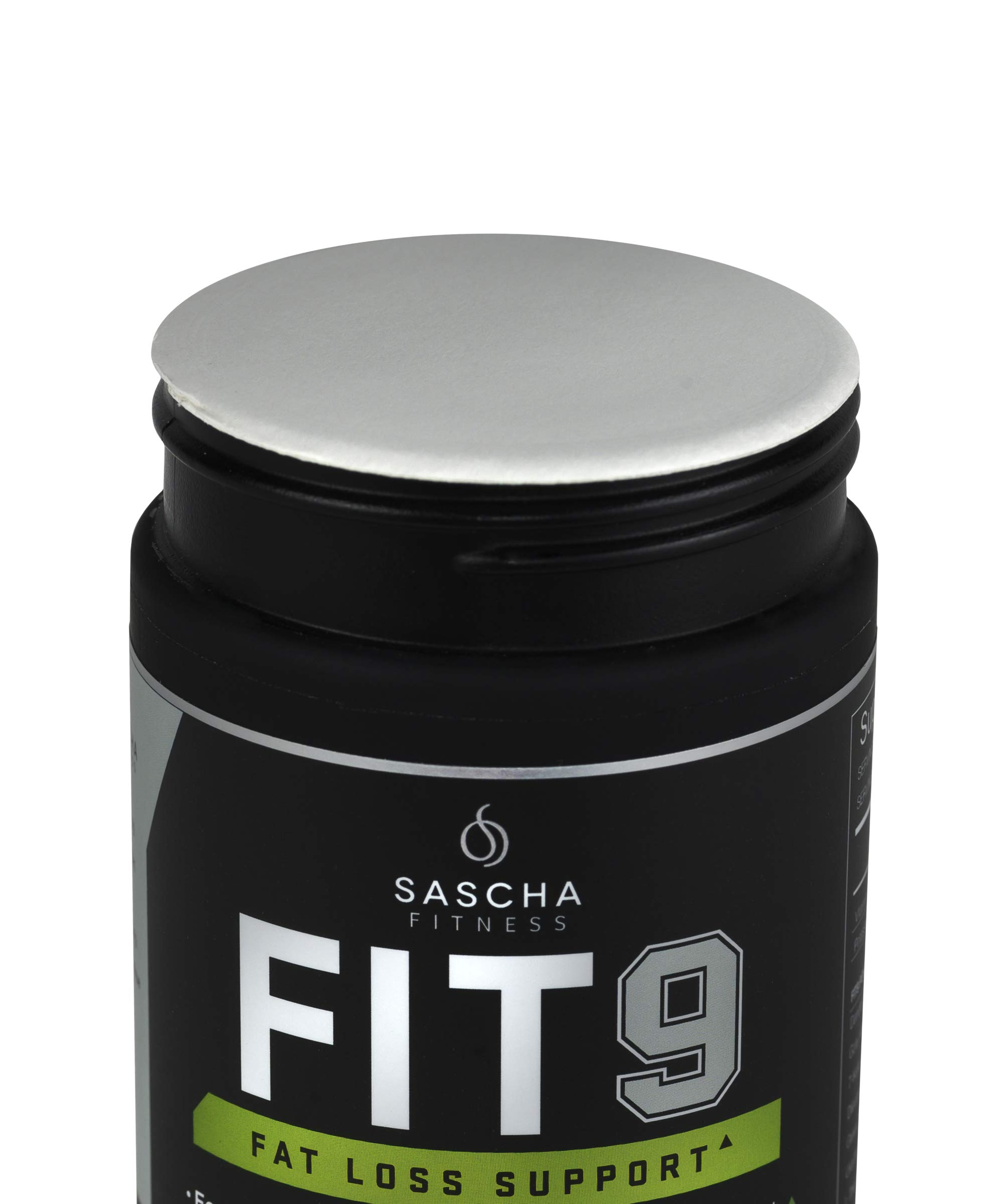 Sascha Fitness Fat Loss pills | Collagen support | Fluid Balance | FIT9 Ingredients: 7Keto + Uva Ursi, Gotu Kola, L-Theanine,Gingko Biloba,DIM,Green Tea | Weight Loss Supplements-Vegan-120 Natural Cap by SASCHA FITNESS (Image #5)