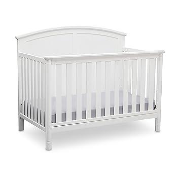 6173130f78a Amazon.com : Delta Children Somerset 4-in-1 Crib, White : Baby