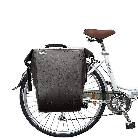 Bolsa Trasera para Bicicleta - amzdeal Bolsa Alforja de Bicicleta ...