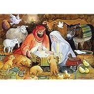Adoring Animals Religious Advent Calendar