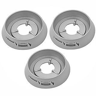 Spares2go llama Interruptor de control bisel anillo cuello para Cannon Horno Encimera 3 unidades
