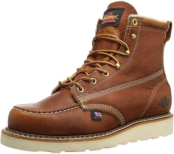 "thorogood men's american heritage 6"" moc toe"