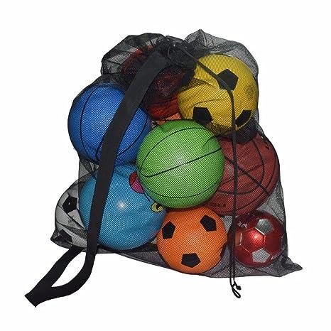 Bolsa de Playa Bolsa de Malla Bolsa de Deporte Mesh Ball Bag ...
