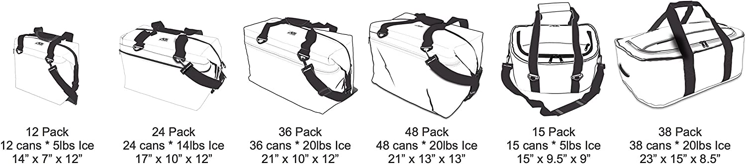AO Coolers Traveler Soft Cooler with High-Density Insulation
