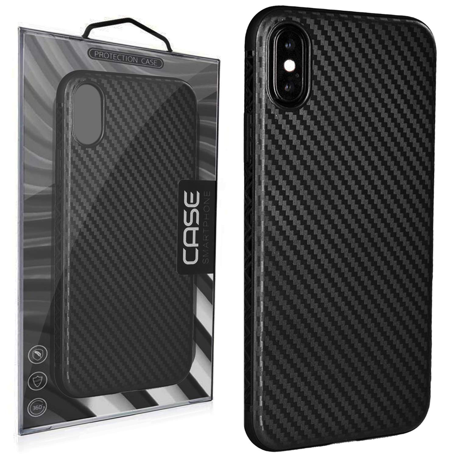 Carbon Fiber Iphone Case >> Carbon Fiber Case For Iphone X And Xs By Project Zaurak Ultra Thin Slim Case Cover For Apple 5 8 Iphone 10 And 10s