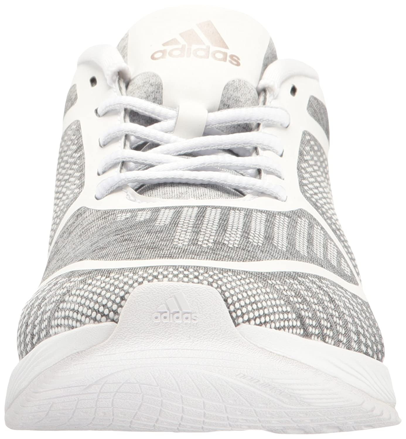 check out c42c7 9eda1 Zapatillas Adidas Performance para mujer Athletics Bounce W Cross-Trainer  Gris claro Heather   Vapor Gris   Blanco