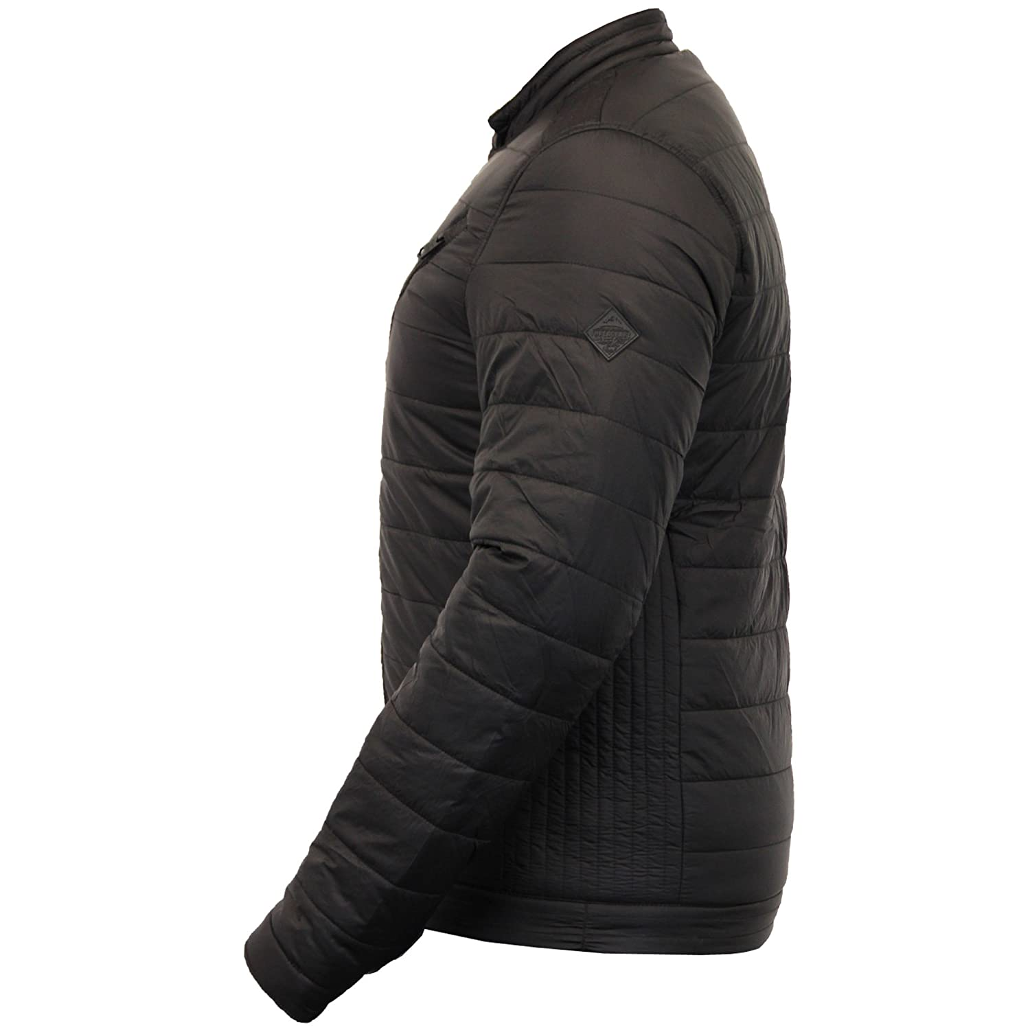 Mens Jackets Threadbare MA1 Quilted Coat Baseball Style Padded Lined Winter New
