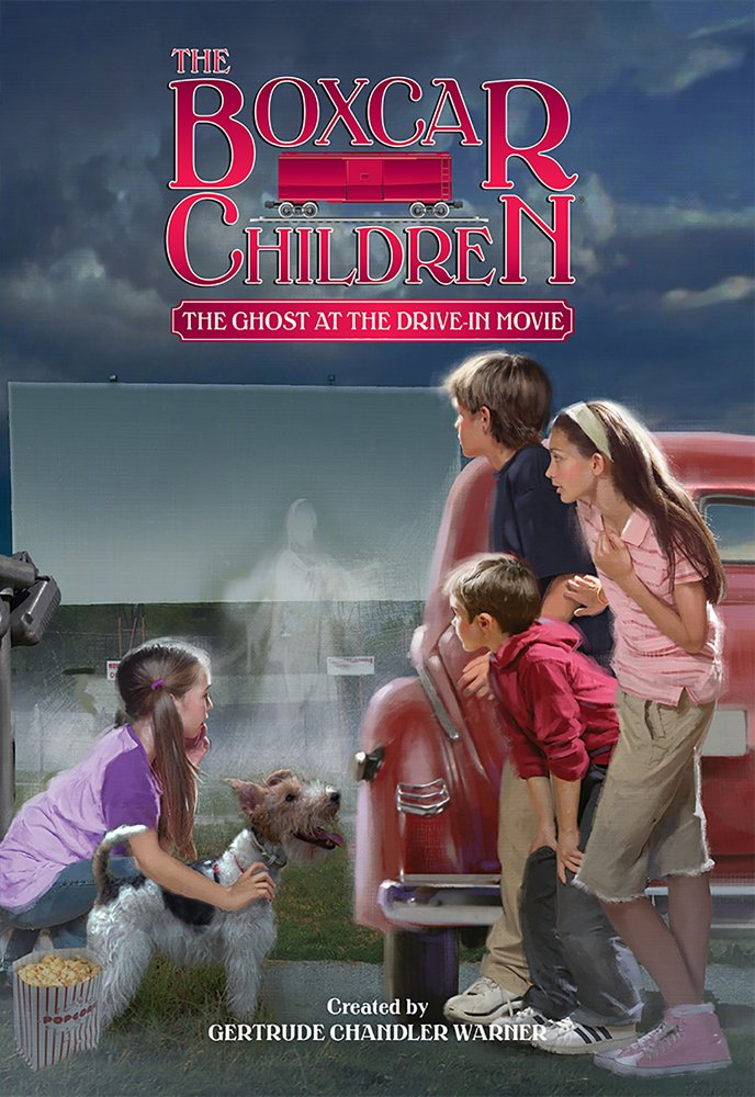 Download The Ghost at the Drive-In Movie (The Boxcar Children Mysteries) pdf