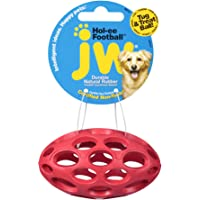 Deals on JW Pet Company Mini Hol-ee Football Dog Toy 43117