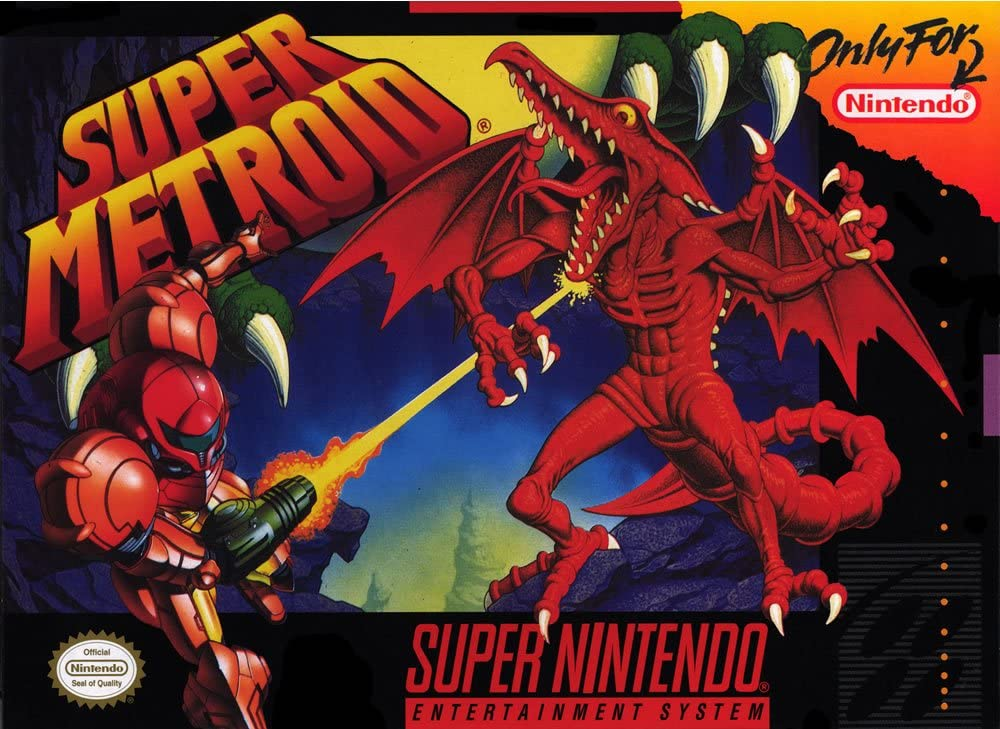 Image result for Super Metroid IV cover art