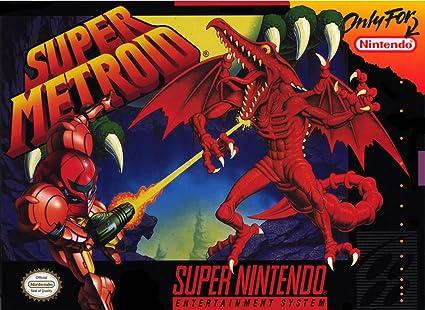 Amazon.com: Super Metroid: Video Games