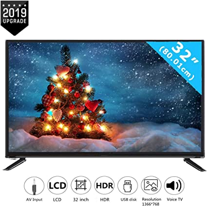 Televisor inteligente LCD HD de 32 pulgadas con entrada RCA de ...