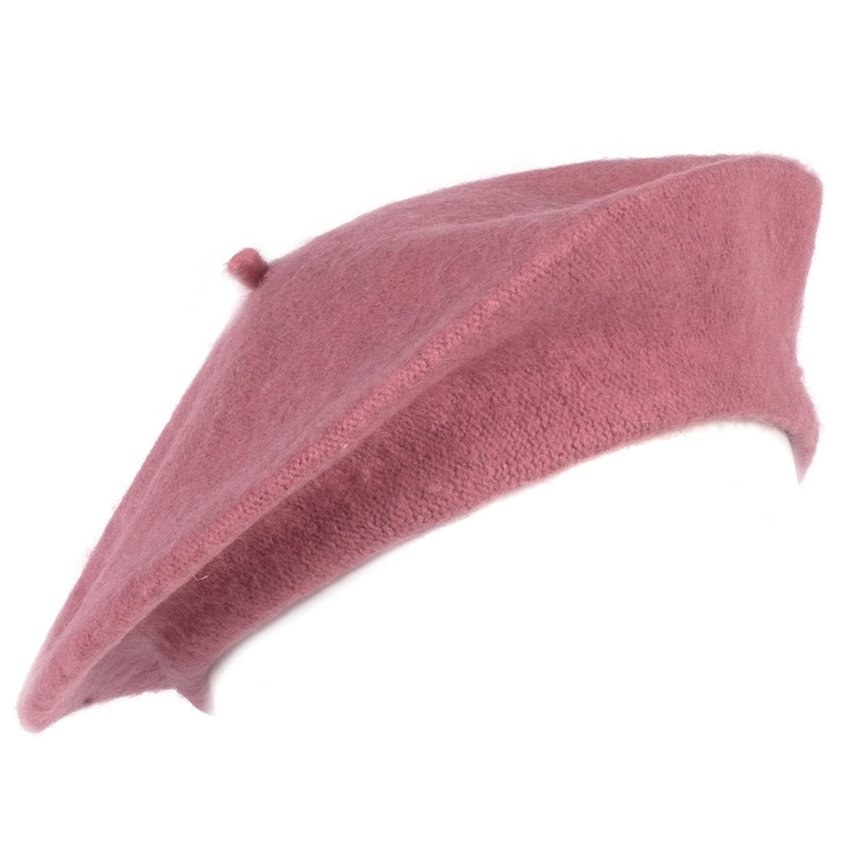 f4b8049173c Vivente Vivo Hats50 Womens Winter Wool Beret Hat French Beret Beanie Hat Cap  (HAT402)  Amazon.co.uk  Clothing