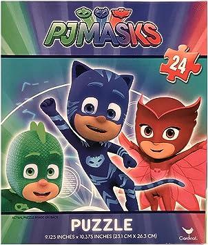 PJ Masks 24 - Piece Puzzle - Owlette Gekko and Catboy - All ...