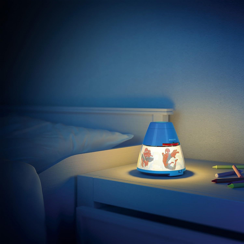 rot 717693216 Philips Disney Cars LED Projektor Tischleuchte
