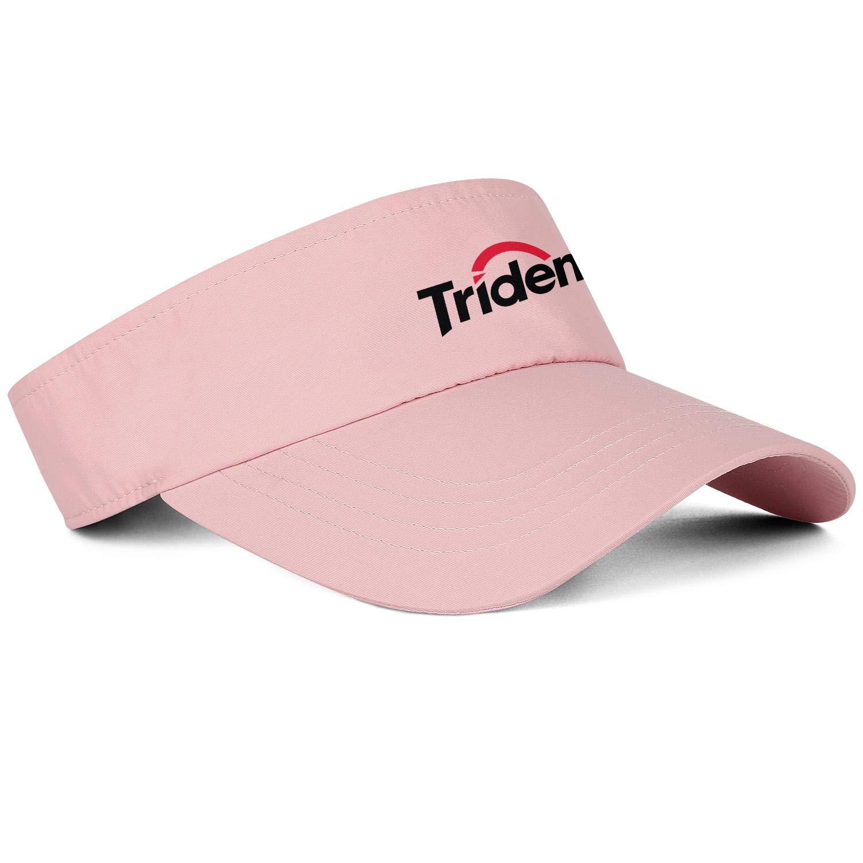 Tic-tac-Logo Men Women Sun Visor Cap Flat Hats Printing Hat Relaxed