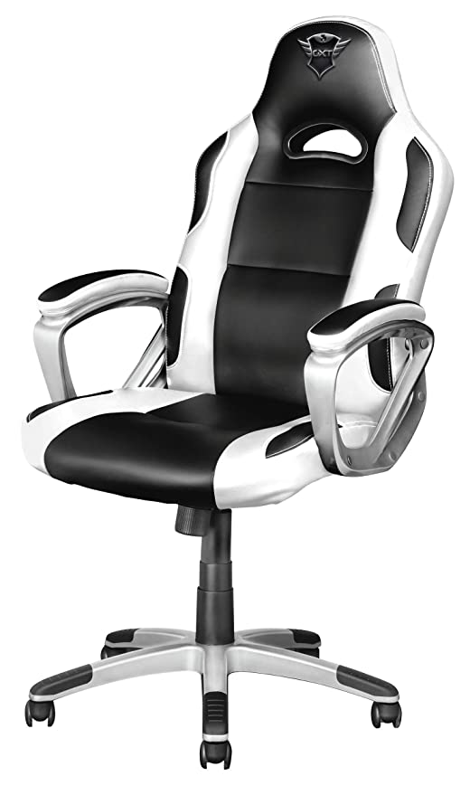 Trust Gaming - Silla para Juegos GXT 705W, Color Blanco