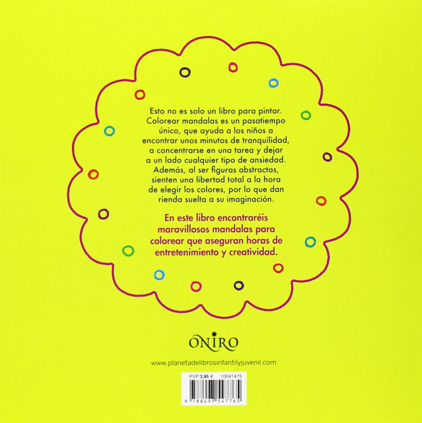 Mi primer libro de mandalas (Libros de actividades): Amazon.es: AA ...