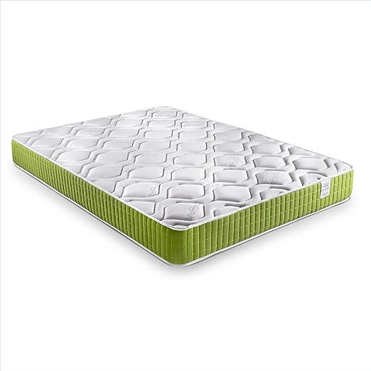 Dreaming Kamahaus Colchón Green Visco-Grafeno | Tejido Air Soft, viscoelástico, 140 x 200 | Altura: ±18cm